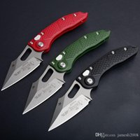 Wholesale doc knife resale online - BM DOC knife Stitch Flipper Folding M390 Blade Outdoor Tactical Camping Hunting EDC Tool Micro Utility EDC Tool Collection Knife