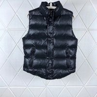 men s casual jacket designs groihandel-Herren Designer Jacke Weste Luxus Reißverschluss Mantel Neue Casual Hoodie Männer Frauen Marke Windjacke Weste Modemarke Jacke Weste B100307K
