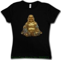 budismo india venda por atacado-OT das mulheres Buddha Girlie Vintage camisa - hinduísmo budismo Siddartha Shiva Índia Govinda boa qualidade pré-algodão