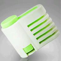 kek tabakası dilimleme makinesi toptan satış-Yeni Gıda dereceli Plastik DIY Kek Ekmek Kesici Leveler Dilimleme Kesme Fixator Mutfak Accessoires Aracı 5 Katmanlar Hiçbir Bıçak