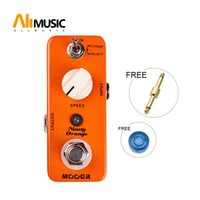 Wholesale mooer pedals free shipping resale online - Mooer Ninety Orange Phaser Pedal Full analog circuit warm deep rich phasing tone Full metal shell True bypass