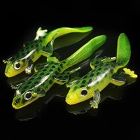 Wholesale soft lure baits for sale - Group buy 20pcs Color cm g Elliot Frog Silicone Fishing Lure Soft Baits Lures Artificial Bait Pesca Fishing Tackle Accessories