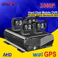 Wholesale o camera for sale - Group buy Wifi GPS HDD CH Hard Disk Auto Car Recorder Mobile Dvr TB G SD Storage I O Outdoor P Rear View Metal Camera