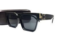 Wholesale plastic plates glasses for sale - Group buy Luxury MILLIONAIRE M96006WN Sunglasses full frame Vintage designer women sunglasses for men Shiny Gold Logo men glass Hot sell Gold plated