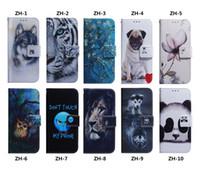 baykuş cüzdanı deri kapak toptan satış-Aminal Deri Cüzdan Kılıf Için Galaxy S10 S10 M30 M20 M10 A70 A50 A40 A30 A20 A10 Çiçek Aslan Panda Köpek Kurt Kaplan Baykuş Yuvası KIMLIĞI Çevir ...