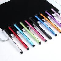 планшетные устройства samsung оптовых-Сенсорный экран высокочувствительная ручка компактный емкостный Стилус для ipad iPhone Samsung планшетных мобильных устройств и т. д