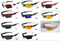 Wholesale sunglasses color order resale online - New Fashion Sunglass Men s sunglasses outdoor sport googel Gasses fast ship Mix color order