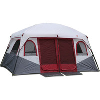 Wholesale new family tents for sale - Group buy New pattern Bedrooms high quality large space Ershiyiting people big outdoor travel family camping tent