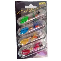 Wholesale crankbaits sets for sale - Group buy Rompin set fishing Spinner Bait Lures Wobblers CrankBaits Jig Metal Sequin Trout Bass Spoon With Feather Hooks cm g