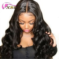 Wholesale hair weave weft sale online - XBL Hair Raw Virgin Cuticle Aligned Hair Remy Human Hair Bundles Sale Within Free Gift
