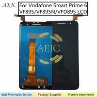 vodafone grátis venda por atacado-Substituição LCD Para Vodafone Inteligente Primeiro-6 VF895 VF895N VFD895 LCD Touch Screen Assembly digitador com ferramentas gratuitas