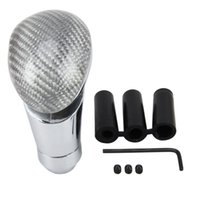 Wholesale led shift knobs for sale - Group buy Carbon Car Gear Shift Knob Modified Car Gear Shift Knob Auto Transmission Shift Lever Lead Gear Knobs