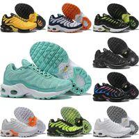 sapatos de esporte de tamanho mais venda por atacado-NIKE AIR MAX TN de bebê de verão crianças meninos pu primeiro Walker Shoe bebê moda antiderrapante sapatos