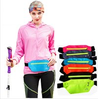 sacs banane à vélo achat en gros de-Running ceinture taille Pack imperméable coureurs ceinture Fanny Pack réglable sac de course sac pour extérieur voyage voyager randonnée à vélo Fitness FFA2531