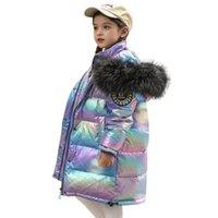 Winter Children Outwear Fashion long Kids Down Coat kids winter coats boys coat girls down jacket girls coats big kids clothes A9215