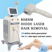 sistema de máquina venda por atacado-Sistema de depilação a laser diodo luz pura 808nm Diodo laser Soprano 808 diodo laser máquina de depilação