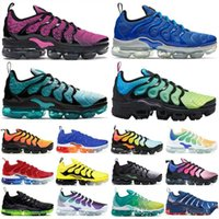 Wholesale max 46 for sale - Group buy 2020 Vapors Tn Plus Spirit Teal Geometric Active Mens Shoes Women Running Shoes Aurora Green Designer Men Sneakers Trainers maxes