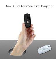 ingrosso mini registratore vocale bluetooth-Nuovo Super Cute Car Key Cellulare sbloccato Mini X6 Dual Sim Card Magic Voice Dialer Bluetooth MP3 Recorder Cartoon bambini cellulare