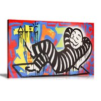 Wholesale monopoly art for sale - Unframed Framed Alec monopoly Jailbird Home Decor HD Printed Modern Art Painting on Canvas x24