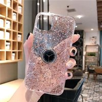 Wholesale clock x for sale - Group buy 100pcs Luxury Clock Stand Phone Case For iPhone X XS MAX XR Plus Creative gold foil glue For Samsung S9 S10 Note9 Cover