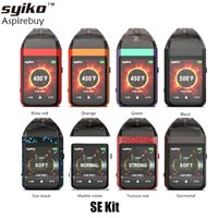 Wholesale touch pod resale online - Syiko SE Kit Inch Touch Screen mAh Builit in Battery ml SE Pod Magnetic Pod ohm Coil Original