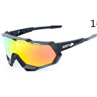 gafas de sol de viento al por mayor-Nuevas gafas de sol para montar a la moda para hombres Bicicletas Gafas deportivas Gafas de sol para conducir Ciclismo al aire libre Gafas de sol con gafas de viento