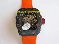 japanische artuhren großhandel-Luxusuhr herren japanische automatische mechanische armbanduhr kohlefaser caes saphirglas nylon strap sport stil hochwertige schweizer uhr