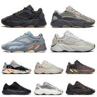 ingrosso scarpe da calcio da uomo all'aperto-adidas yeezy 700 v2 boost  nero bianco athletic outdoor Sport jogging trainer velocità donne sneaker taglia 41.5-45