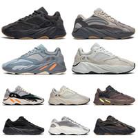 homens, correndo, sapatos, onda venda por atacado-adidas yeezy 700 v2 boost  preto branco athletic ao ar livre Esportes Jogging trainer velocidade mulheres sneaker tamanho 41.5-45