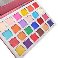 eyeshadow palette venda por atacado-Paleta Da Sombra do Disjuntor da maxila 24 Cores Paleta da Sombra Estrela de Cinco pontas-Direta Da Fábrica de Cosméticos Paleta DHL grátis