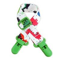 bebek bezi tutacağı toptan satış-Bebek Önlüğü Klip Ayarlanabilir Meme Tutucu Meme Chupetas Çocuk Emzik Klipler Emzik Tutucu Emniyet Hemşirelik Kapak MMA1488 360 adet