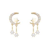 370e5a2e24c65 Shop Gold Moon Earrings UK | Gold Moon Earrings free delivery to UK ...