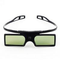 3d lg projektör toptan satış-2018 Yeni G15-DLP 3D Aktif Shutter Gözlükler Optoma Için LG Acer DLP-LINK DLP Bağlantı 3D Projektörler 96-144Hz