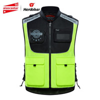 Wholesale safety reflective vest for running for sale - Group buy HEROBIKER Motorcycle Jacket Reflective Vest Safety Vest Body Safe Protective Traffic Facilities For Running Riding Sports Vest T191226