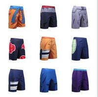 kurutucu toptan satış-Mens 3D Baskı Dragon Ball Kısa Pantolon Moda Çabuk Kuruyan Spor Giyim Yaz Rahat Tasarımcı Plaj Giyim