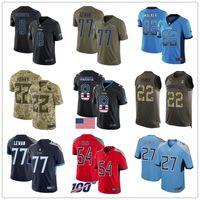 84 jersey venda por atacado-Tennessee personalizado Titan Jerseys Eddie George Steve McNair Steve McNair Taylor Lewan Kevin Byard Delanie Walker 84 Davis Homens Football Jersey