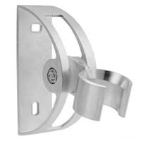 wandhalter aluminium großhandel-Brausehalter aus Aluminium Wandhalterung Wandhalterung Wandhalterung halbrund verstellbar Duschkopfhalter Produkt flexibel