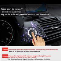 tecla de arranque remoto al por mayor-Partol Smart Key PKE Alarma de automóvil Entrada pasiva sin llave Sistema de automóvil Arranque del motor Botón de parada Sensor de arranque remoto X5