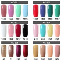 Wholesale Any Set Colors Arte Clavo Set Colors Soak Off UV LED Gel Nail Polish ml Gel Polish Set
