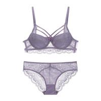 6fe1bc22f conjuntos de roupa interior sexy bela venda por atacado-Sexy Lace Criss  Cross-Bandage