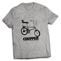 bmx motosikletleri toptan satış-CHOPPER BMX RETRO GRIFTER BISIKLET BISIKLET MOTOSIKLET GRI MENS T SHIRTStyle Yuvarlak Stil tshirt