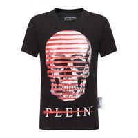 secadora de ropa encogible al por mayor-19SS diseñador de camiseta para hombre de moda de cráneo, anti-encogimiento y secado rápido diseñador de lujo para hombre, marca de ropa P