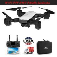 dronlar w kameralar toptan satış-Drone X Pro Katlanabilir RC Quadcopter WIFI FPV w / 1080 P HD 120 ° Geniş Açı Kamera