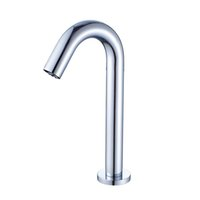 Wholesale electronic taps resale online - Promotion Automatic Touchless Electronic Sensor Faucet Chrome Sink Basin Tap