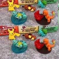 paquete de muñecas al por mayor-5 styels / Set del anime de Japón juguetes de la muñeca de 3 cm de acción del PVC calcula la muñeca OppBag paquete acción de dibujos animados calcula los juguetes de los niños regalo L560
