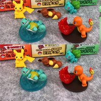 puppenpaket groihandel-5 Styels / Set Japan Anime-Puppe spielt 3cm PVC Action-Figur Puppe OppBag Paket Cartoon Action-Figur Spielzeug-Kind-Geschenk L560