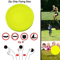 Wholesale games catch resale online - Mini Pocket Flexible Zip Chip ZipChip Flying Disc Soft New Spin in Catching Game The New Way to Play Fingertip toy