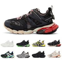 koşu için en iyi koşu ayakkabıları toptan satış-Balenciaga shoes En iyi kalite 3M Parça Marka Moda Tasarımcısı Spor Sneakers Boyutu 36-45 Koşu üçlü Siyah Sarı Lüks erkeklerin kadınları Koşu Ayakkabıları 3,0 Mens
