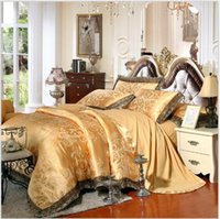 1490f20017d1 Wholesale camel king size for sale - Home Textile Silk cottonSatin Queen  King Size Luxury Bedding