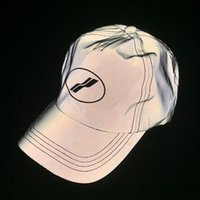 chapéu de 3m venda por atacado-19SS BEM FEITO 3 M Reflexivo Cap Chapéu de Viagem Ao Ar Livre de Moda de Rua chapéu de Sol Chapéus de Sol de Pesca Das Mulheres Dos Homens de Esportes Ao Ar Livre Chapéus De Férias HFYMMZ019